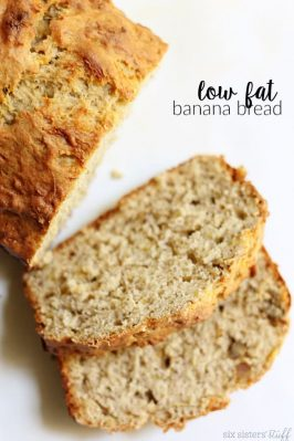 Low Fat Banana Bread Recipe