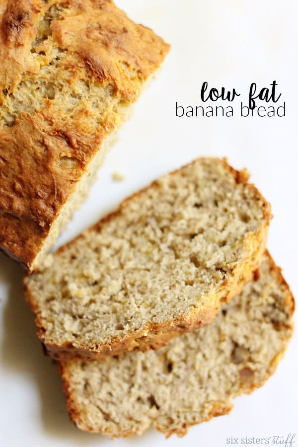 Low Fat Banana Bread Six Sisters