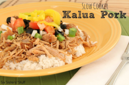 Slow Cooker Kalua Pork Roast Recipe
