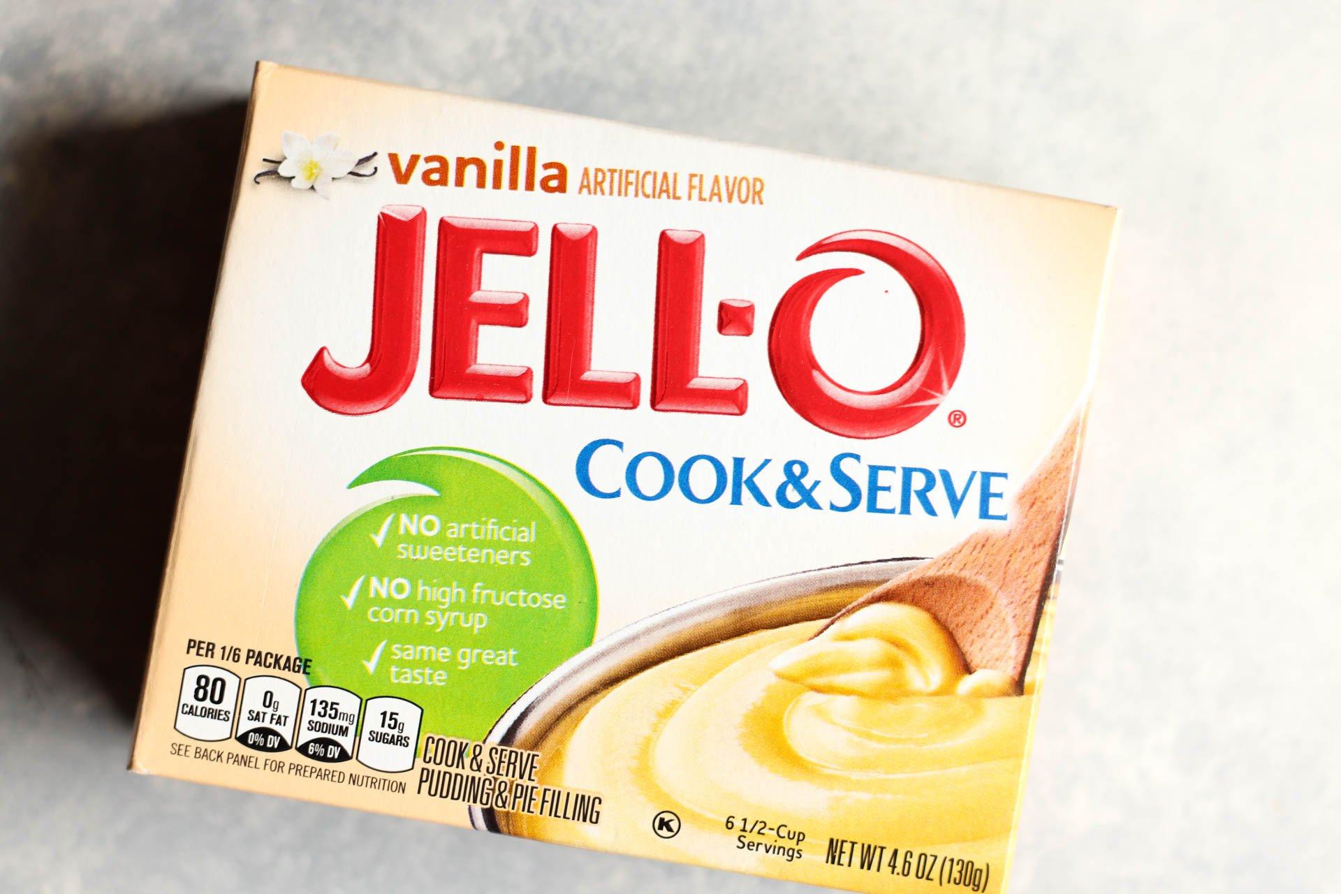 Vanilla Jello Cook & Serve Pudding