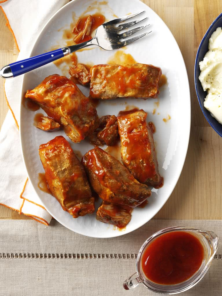 Slowcooker BBQ Spareribs Recipe