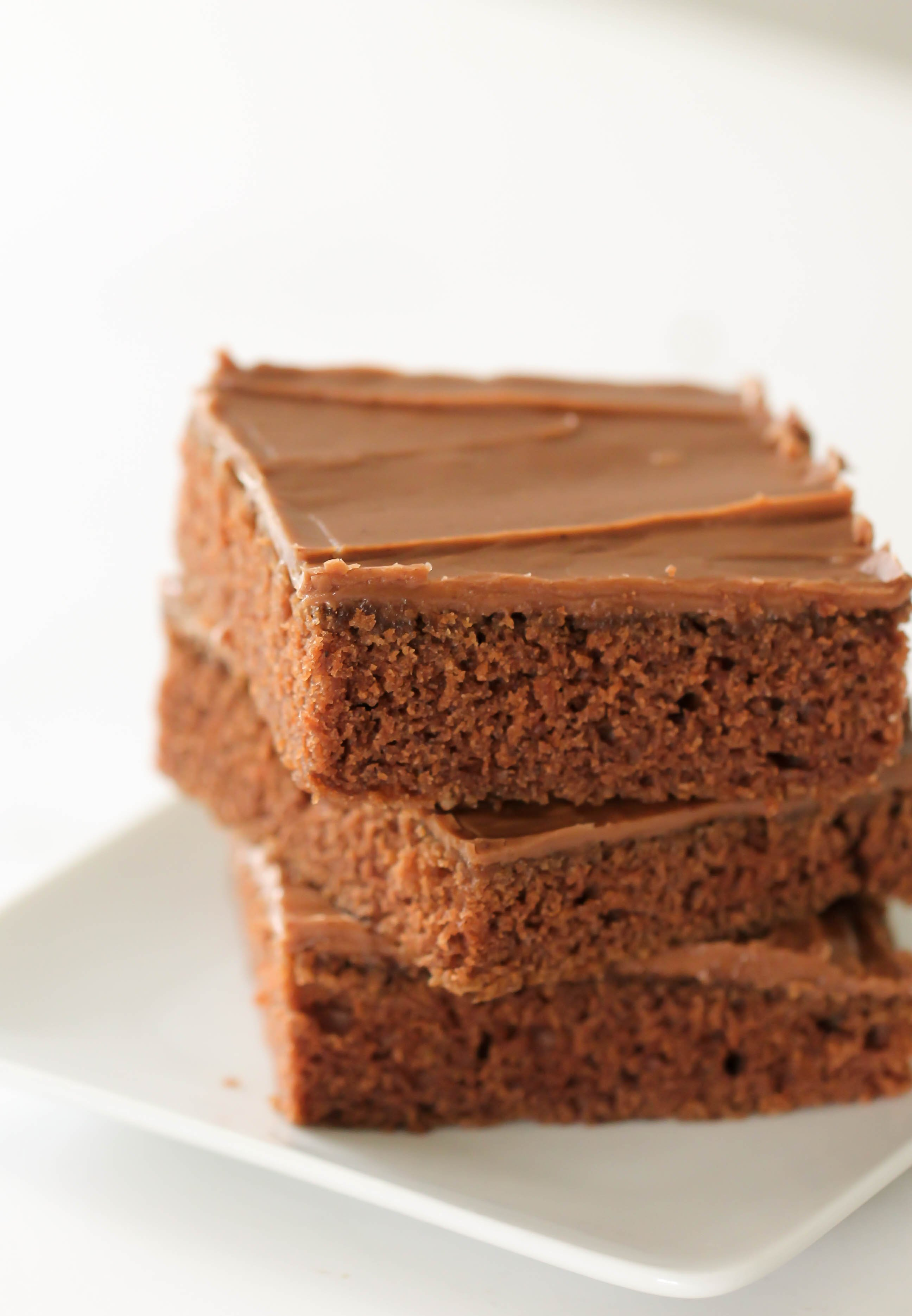 Texas Sheet Cake Brownies Recipe