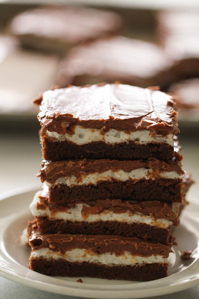 Mom's Famous Marshmallow Brownies Recipe