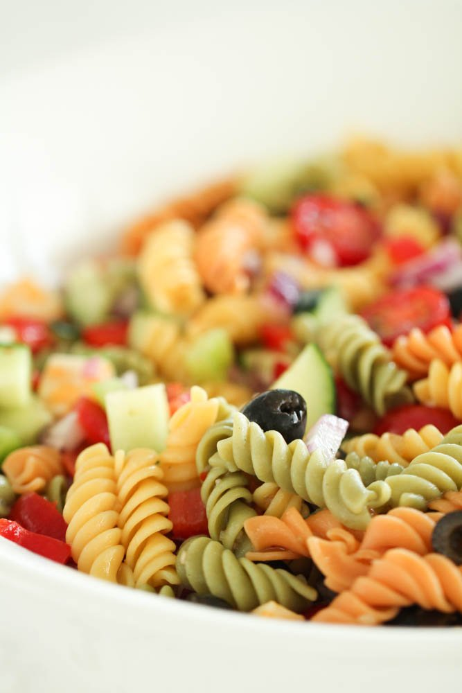 The Best Homemade Pasta Salad