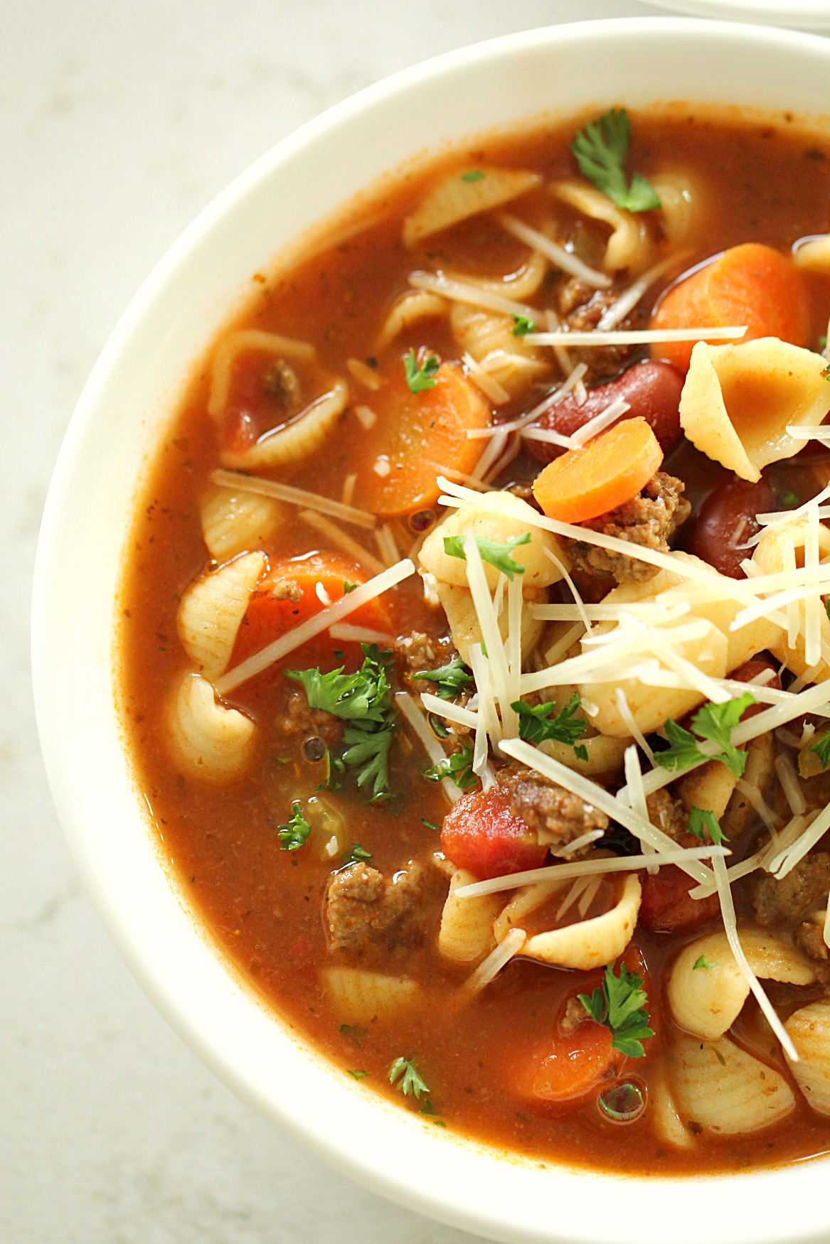 The Best Minestrone Soup with Italian Sausage