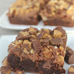 Reese's Brownies on SixSistersStuff