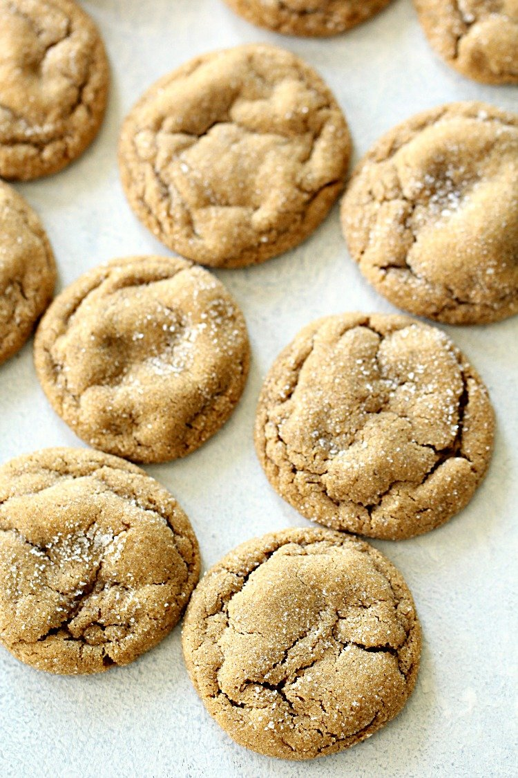 Soft And Chewy Ginger Cookies Recipe Best Christmas Cookie