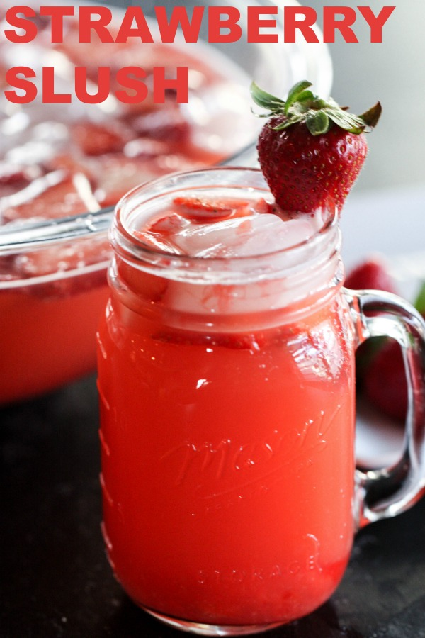 Strawberry Slush Drink Recipe