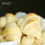 The Easiest Homemade Roll Recipe