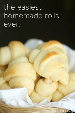 Easy Homemade Rolls Recipe