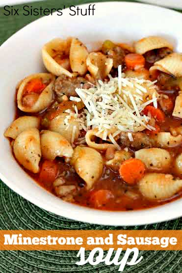 minestrone and sausage soup recipe