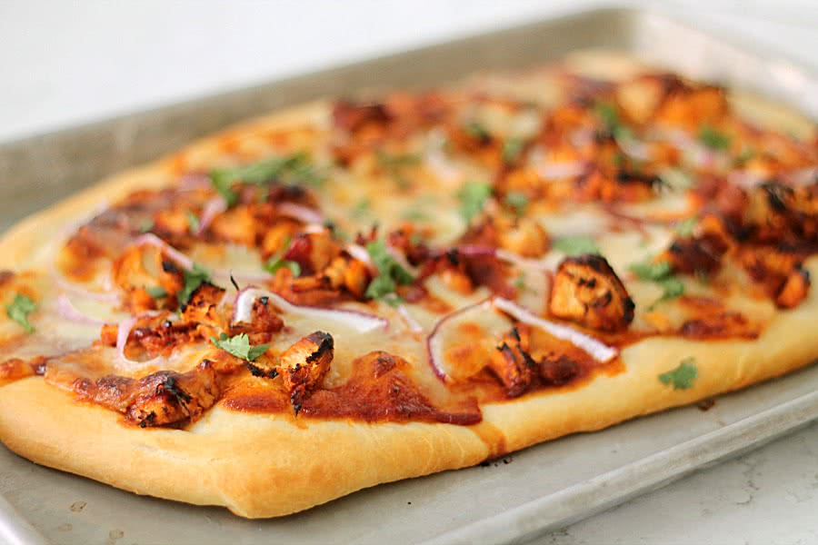 Copycat CPK BBQ Chicken Pizza