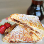 Nutella Stuffed Custard French Toast Recipe from SixSistersStuff.com