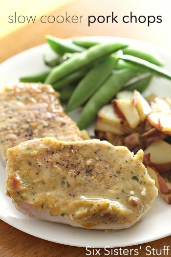 crock pot pork chops with veggies