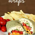 chicken caesar wraps recipe