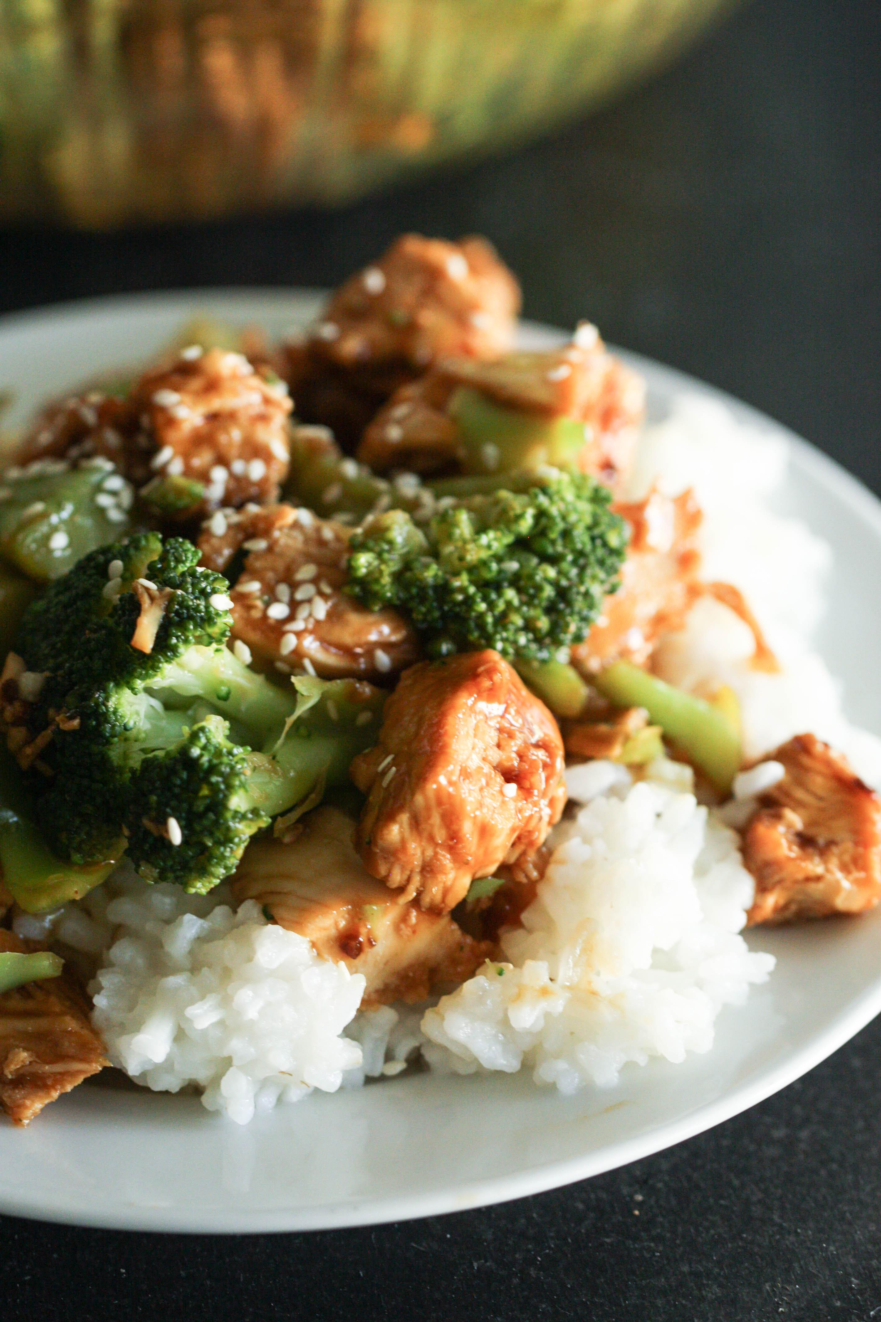 Korean BBQ Chicken and Broccoli
