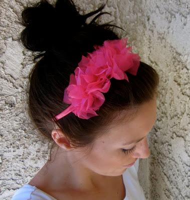 Easy Ruffle Knotted Headband