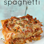Baked Spaghetti Recipe Six Sisters Stuff