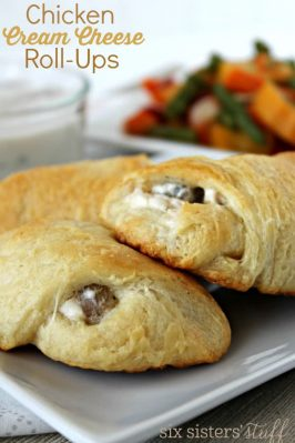 Mom's Chicken and Cream Cheese Roll-Ups