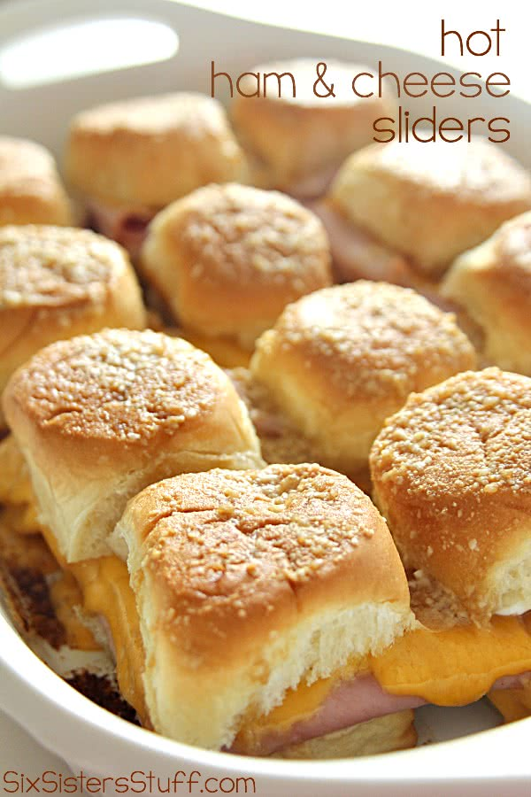 Tailgate Sandwiches: Ham and Cheese Sliders Recipe