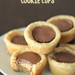 Peanut Butter Cookie Cups on SixSistersStuff.com