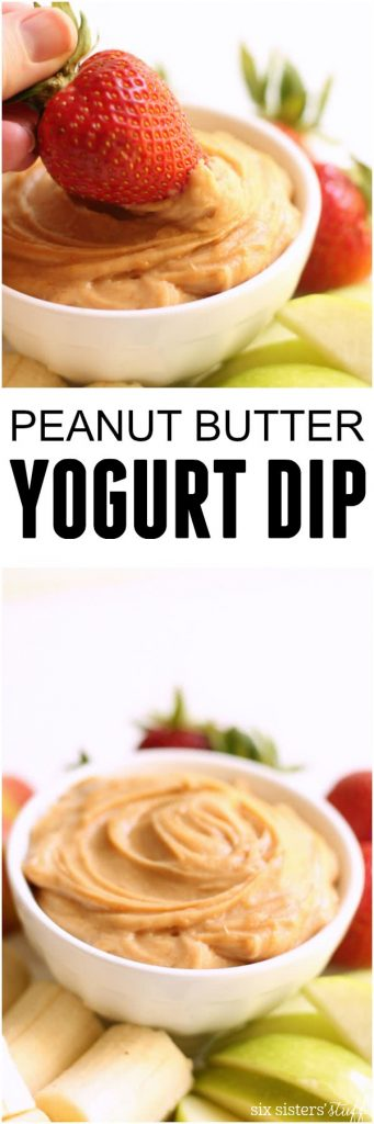 Peanut Butter Yogurt Dip (1)