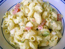 Traditional American Macaroni Salad
