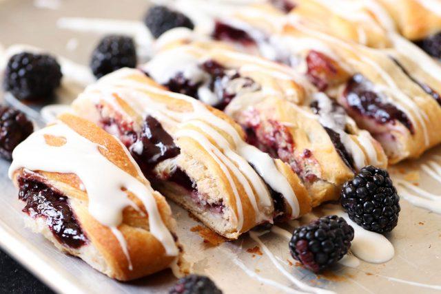 Blackberry Cream Cheese pastry