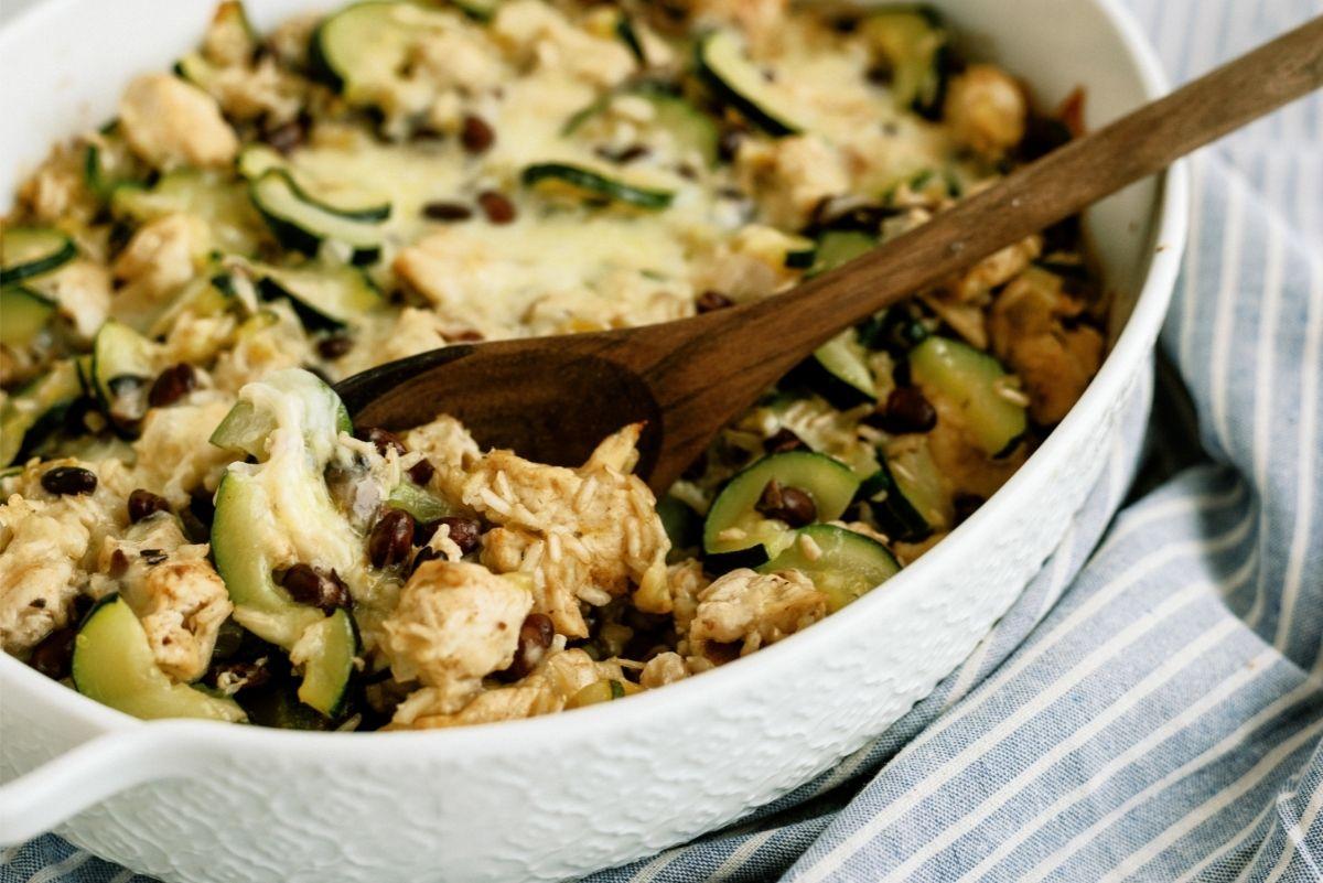 Chicken and Black Bean Casserole Recipe