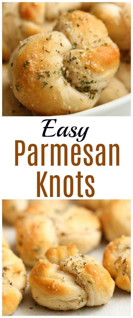 Easy Parmesan Knots Recipe