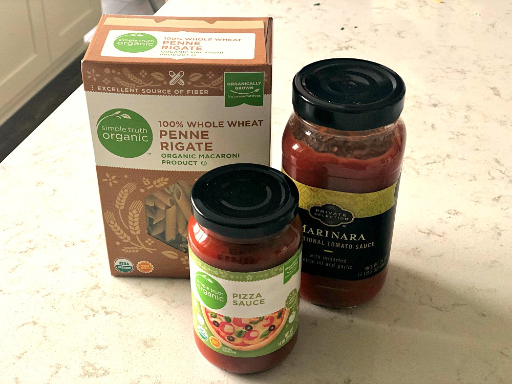 Ingredients for Slow Cooker Pizza Pasta Bake Recipe