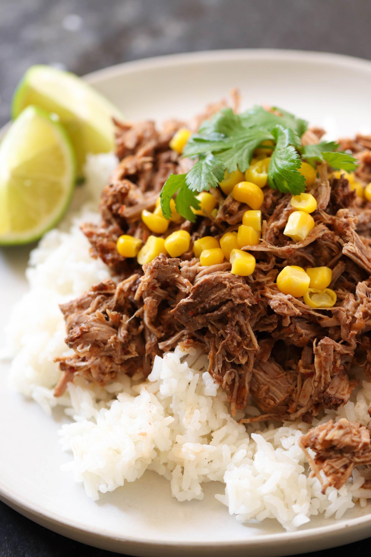 Weight Watchers Slow Cooker Chipotle's Barbacoa Beef Recipe