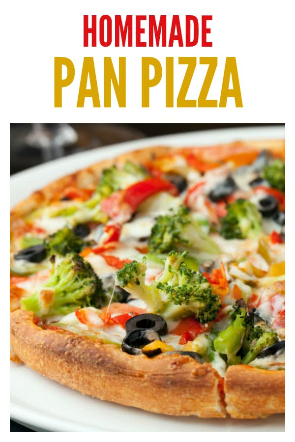 handmade pan crust pan pizza crust six stuff 4566