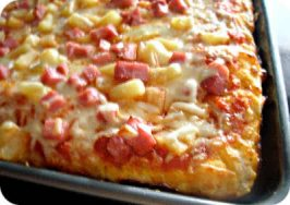 Homemade Pan Pizza Crust & Pizza Night Tradition