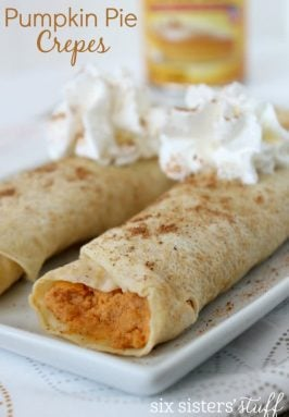 Pumpkin Pie Crepes Recipe