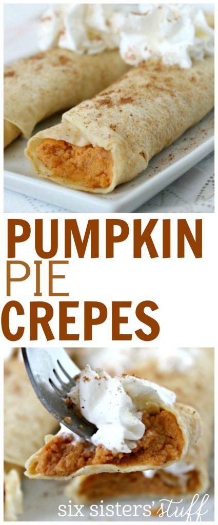 Pumpkin pie Crepes 3