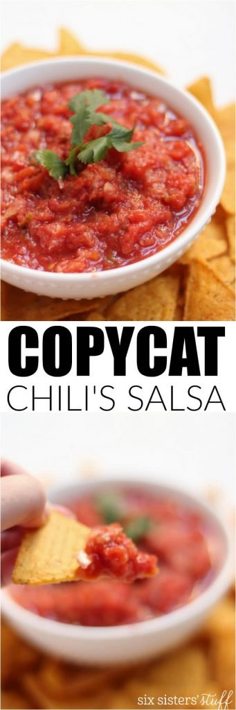 chili's salsa copycat recipe on six sisters' stuff