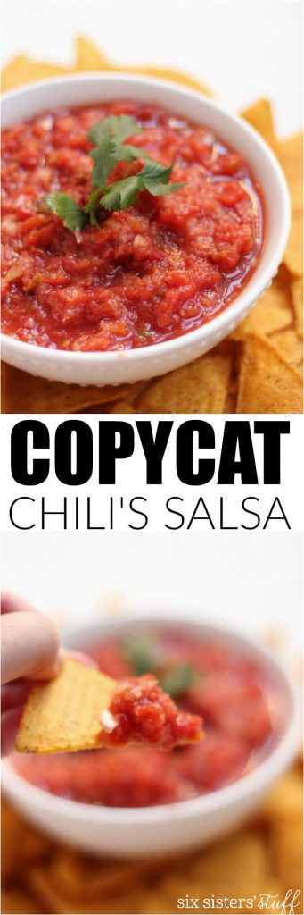 chili's salsa copycat recipe on six sisters' stuff