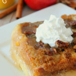 Baked apple Pie French Toast