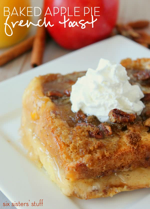 Baked Apple Pie French Toast Recipe