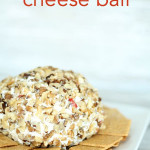 Holiday Cheese Ball from SixSistersStuff.com