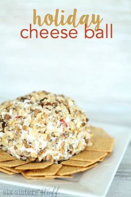 Grandma's Holiday Cheese Ball