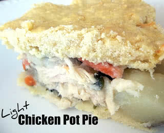 Healthy Meals Monday: Light Chicken Pot Pie