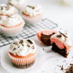 Valentine's Day Neapolitan Cupcakes