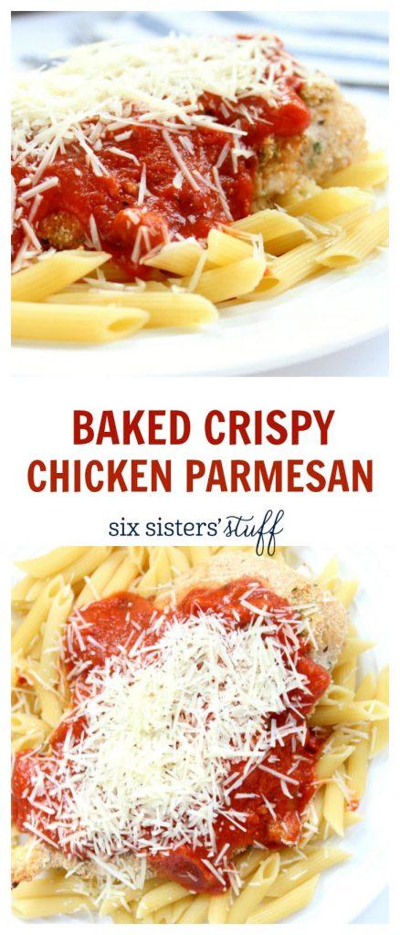 baked crispy chicken parm3