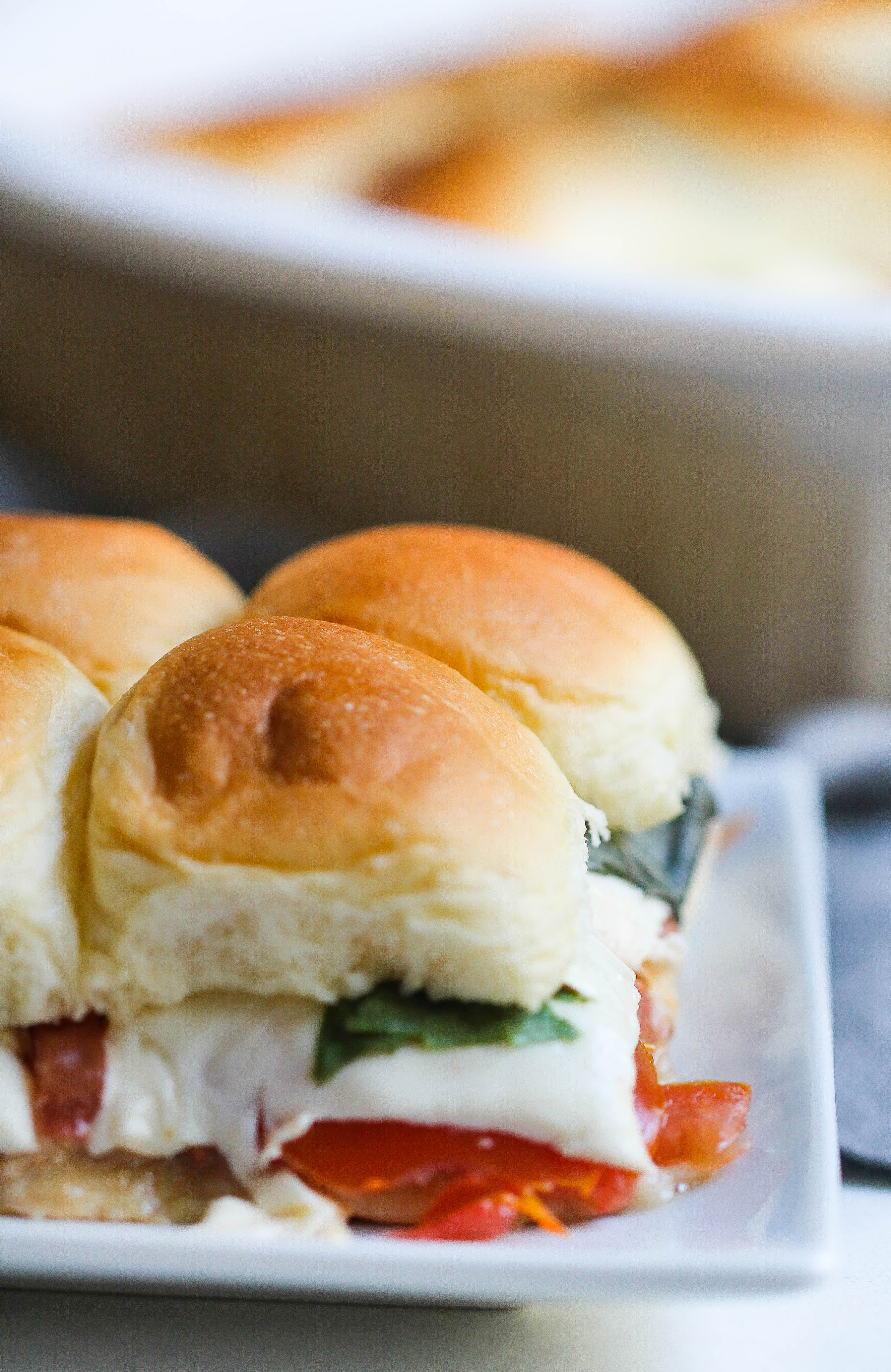 Tomato, Basil, and Cheese Sandwich (Caprese Sandwich)