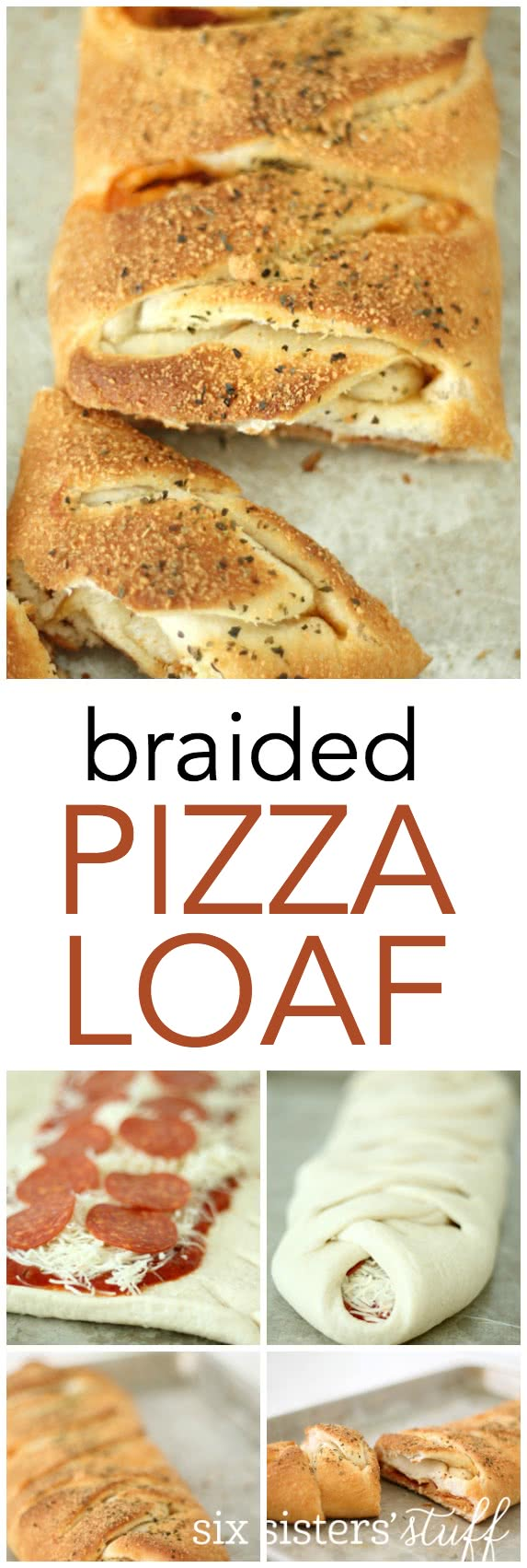 Braided Pizza Loaf Recipe