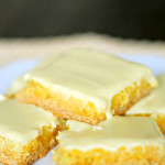Gooey Lemon Bars from SixSistersStuff.com