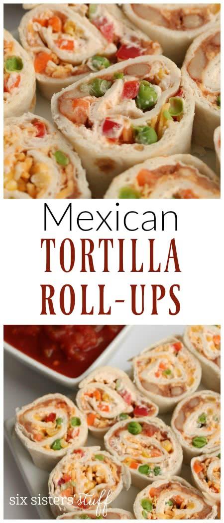 Mexican Tortilla Roll-ups 2