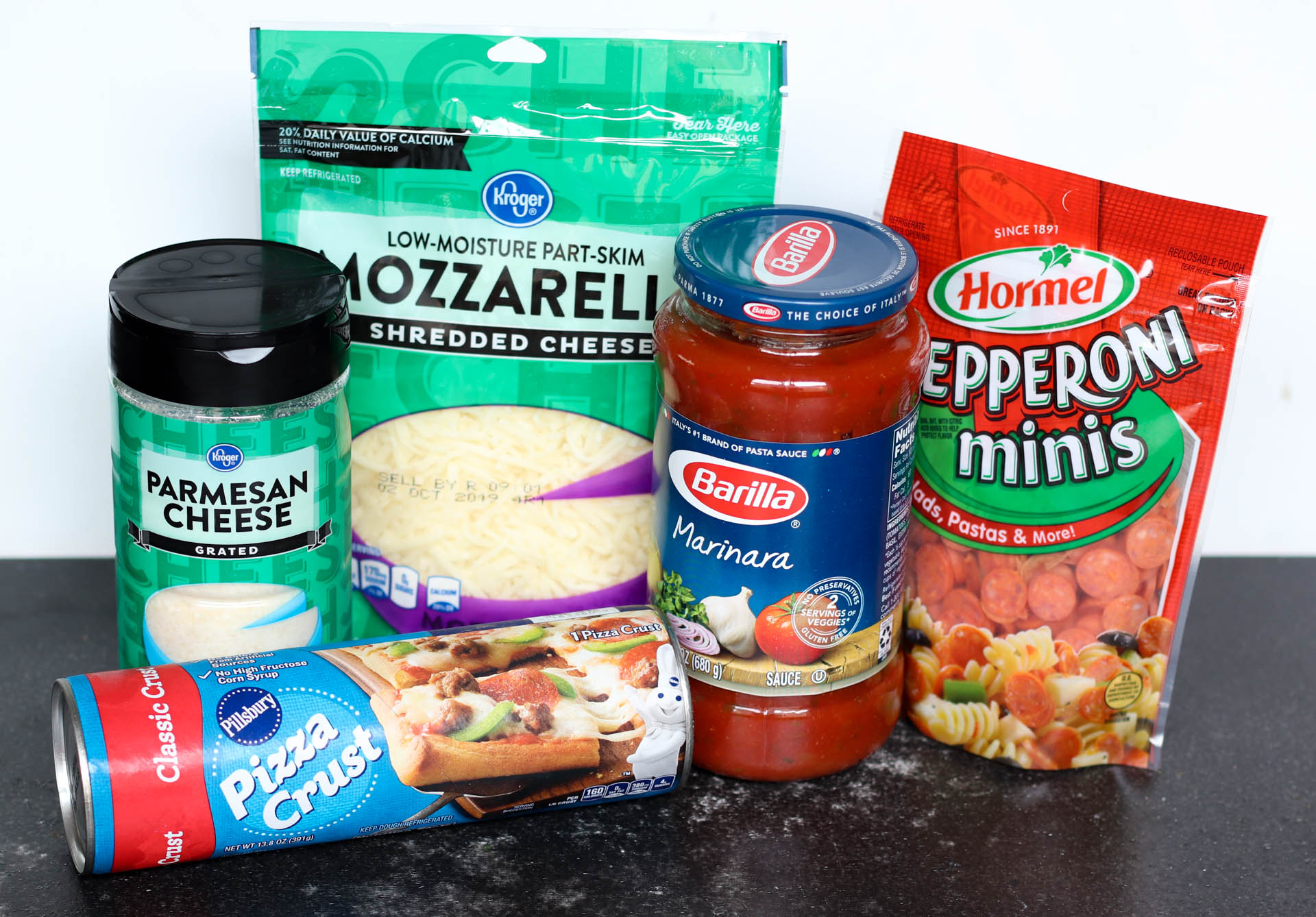 Ingredients for Stuffed Pizza Rolls Recipe